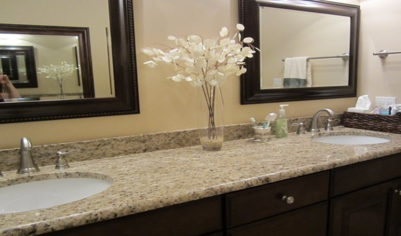 Marble and Granite Bathroom Counter Tops