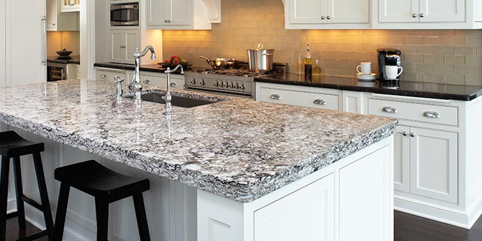 Marble and Granite Kitchen Counter Tops