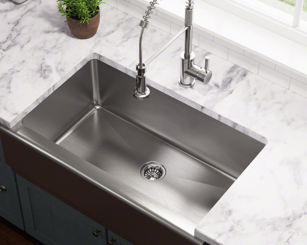 Stainless Sinks for Marble and Granite Counter Tops
